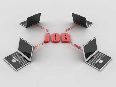 job concept photo