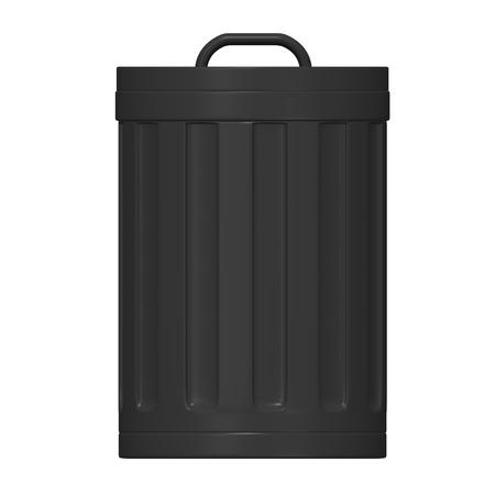 3d render of dust bin Stock Photo - 12894502