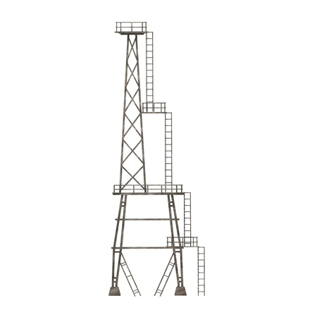 3d render of industrial tower Stock Photo - 12894688