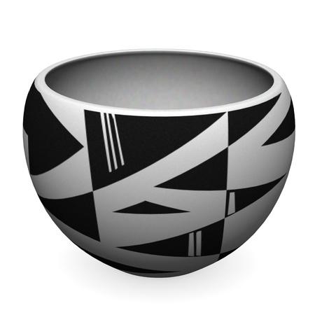 habilis: 3d render of indian bowl