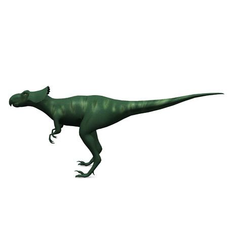 3d render of prehistoric dinosaur