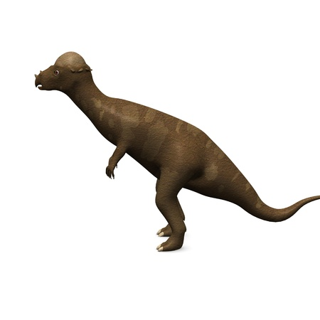 3d render of prehistoric dinosaur photo