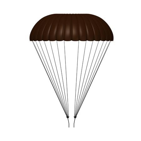 3d render of parachute model Stock Photo - 12894604