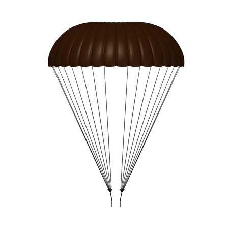 3d render of parachute model Stock Photo - 12894604