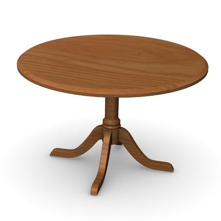 vizualisation: 3d render of restaurant table
