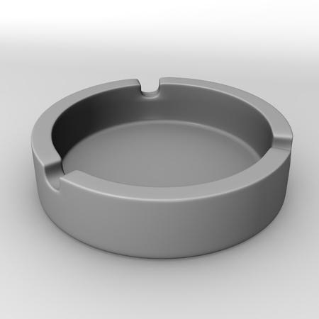 ash: 3d render of ash tray