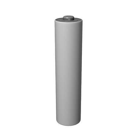 electronic energizer: 3d render of electric battery