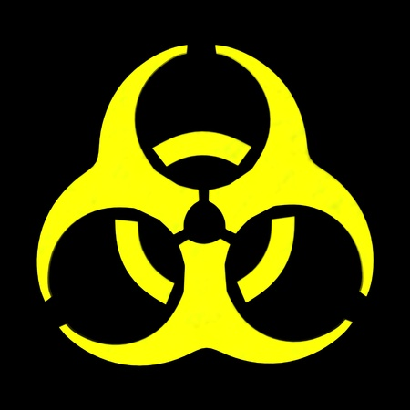 3d Render Of Biosafety Symbol Stock Photo Picture And Royalty Free