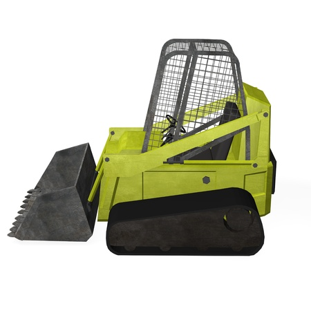 3d render of bobcat machine  Stock Photo - 12906347