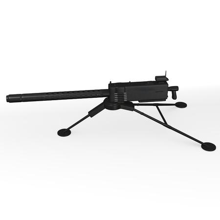 3d render of ww2 weapon