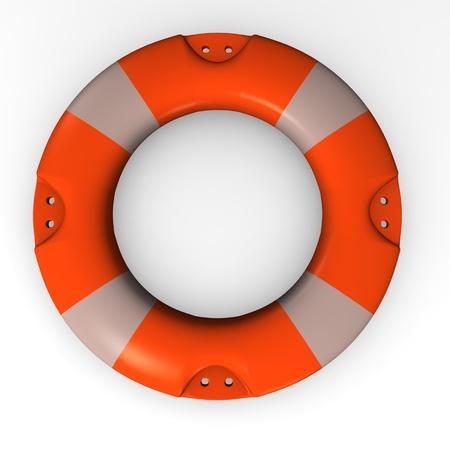 floater: 3d render of water buoy