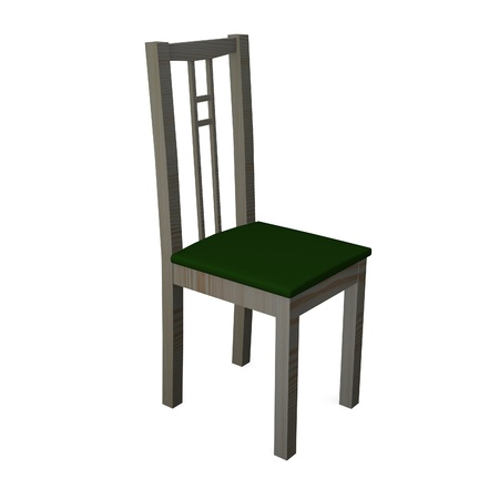 3d render of modern chair Stock Photo - 12909383