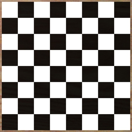 3d render of chess board  photo