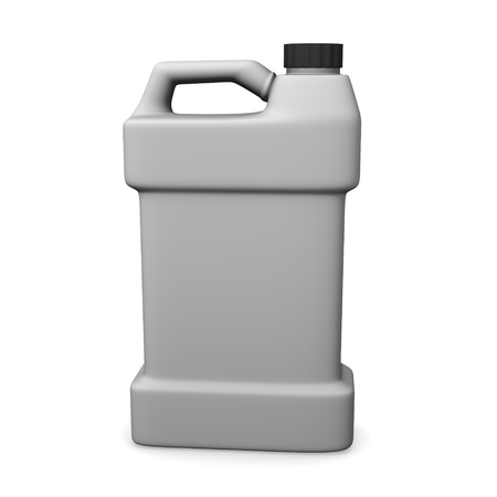 purgative: 3d render of cleaner container  Stock Photo