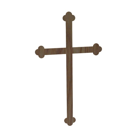3d render of wooden crucifix  Stock Photo - 12909496