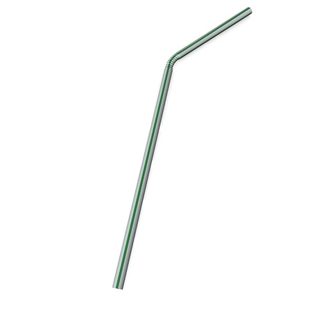 3d render of drinking straw