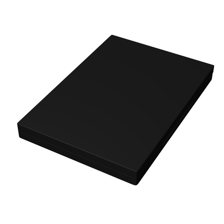 dvd case: 3d render of  dvd case