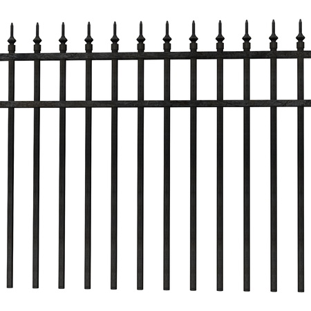3d render of fence (architecture exterior element)  Stock Photo - 12906585