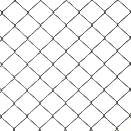 fencing wire: 3d render of fence (architecture exterior element)