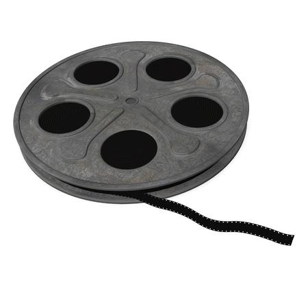16mm: 3d render of film reel