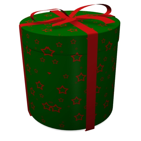 3d render of gifts (present) photo