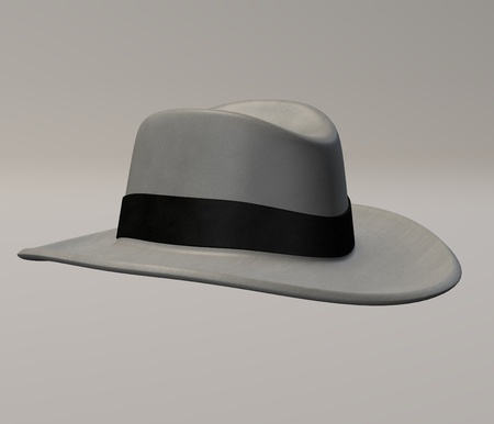 3d render of hat (clothing) photo