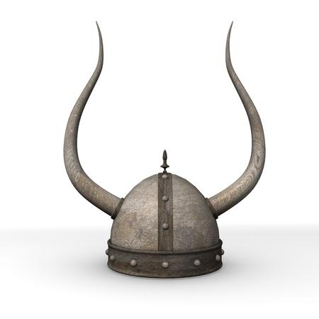 3D-Darstellung von alten Helm