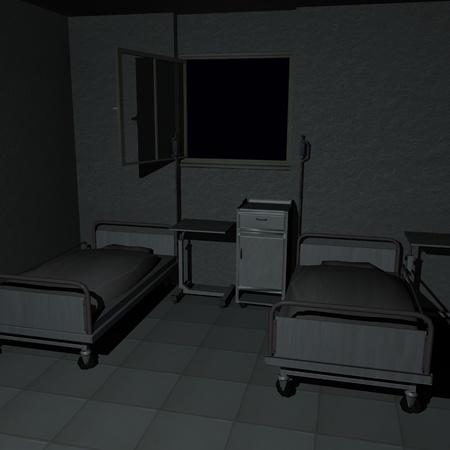 3d render of hospital room Stock Photo - 12906663