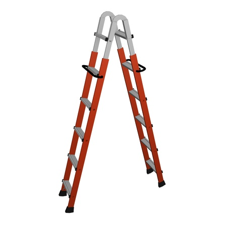 3d render of ladder tool Stock Photo - 12909378