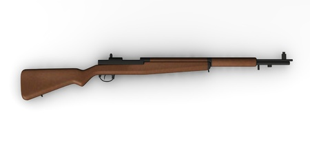 3d render of ww2 weapon  Stock Photo - 12905394