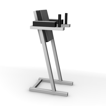 3d render of gym machine  photo