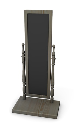3d render of classical mirror Stock Photo - 12905428