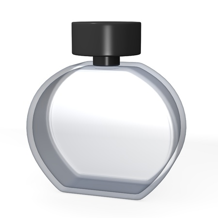 parfume: 3d render of parfume glass  Stock Photo
