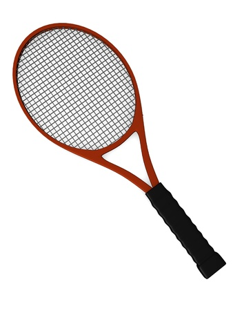 3d render of tennis racket  Stock Photo - 12985866