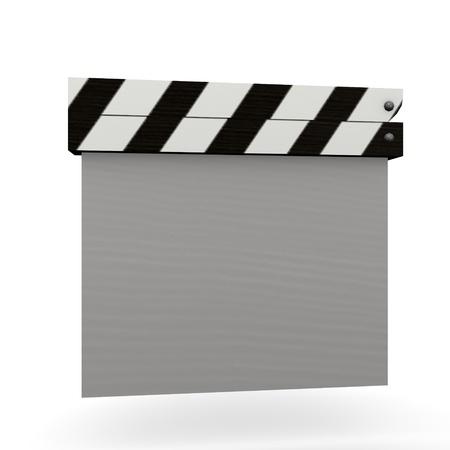 taker: 3d render of scene taker Stock Photo