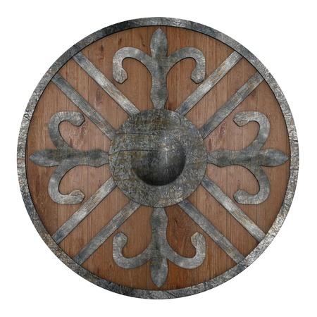 vikingo: 3d de la guerra escudo