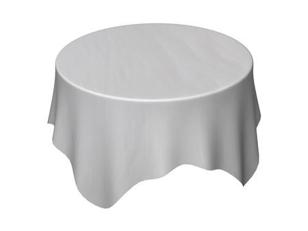 テーブル クロスの 3 d レンダリング