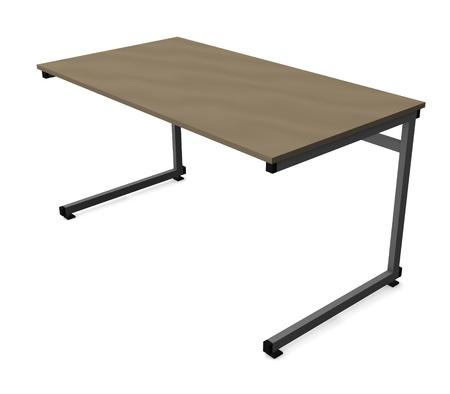 3d render of school table  photo