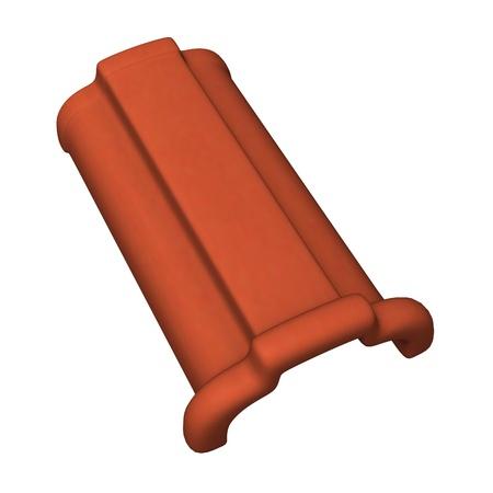 3d render of Dachziegel Standard-Bild - 12917767
