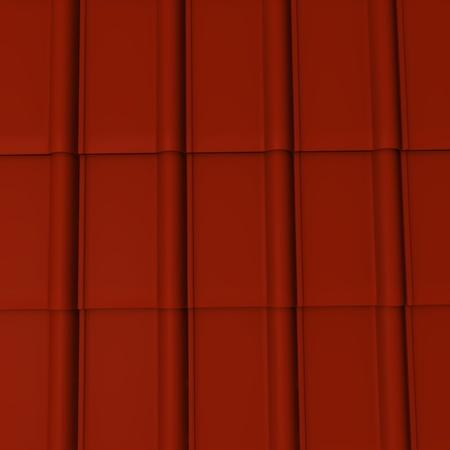 3D-Darstellung von Dachziegeln Standard-Bild - 12917854