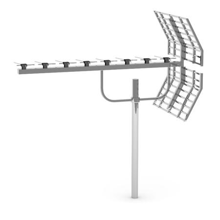 3d render of aerial equipment