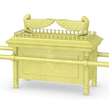 Rendu 3D de l'arche de l'alliance Banque d'images - 13730092