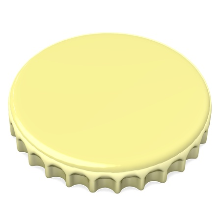 stopper: 3d render of bottle lid