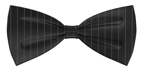 3d render of bow tie Stock Photo
