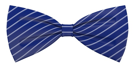 3d render of bow tie Stock Photo