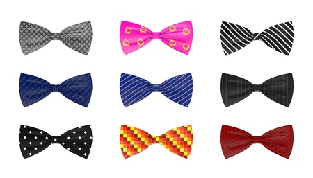 3d render of bow ties Stock Photo - 13728823