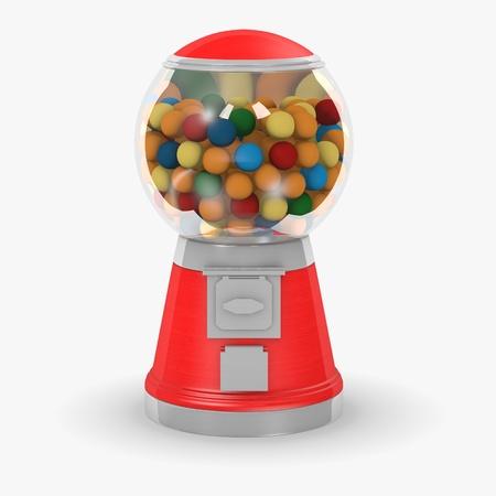 automat: bubble gum machine Stock Photo
