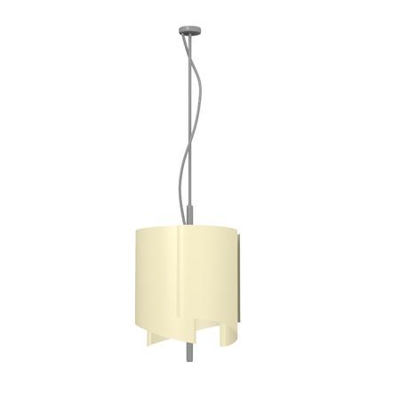 3d render of ceiling light