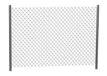 3d render of chain fence Stock Photo - 13730184