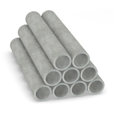 construction materials: 3d render of construction material